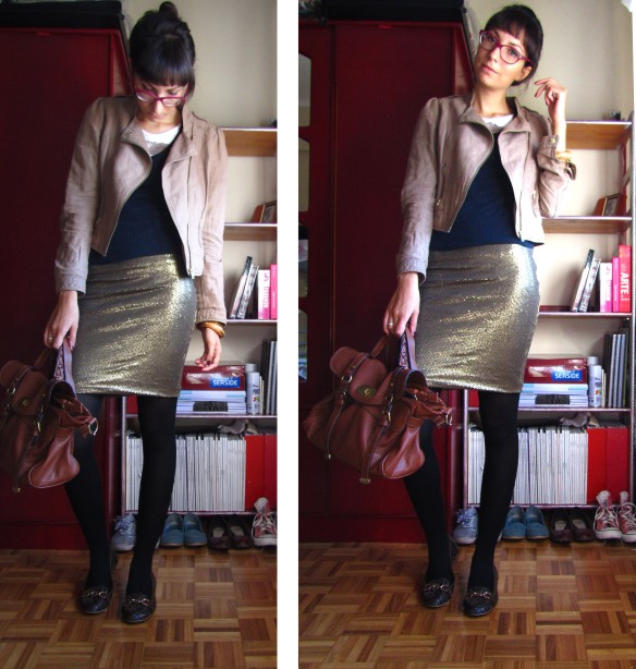 OOTD - we are GOLDEN!