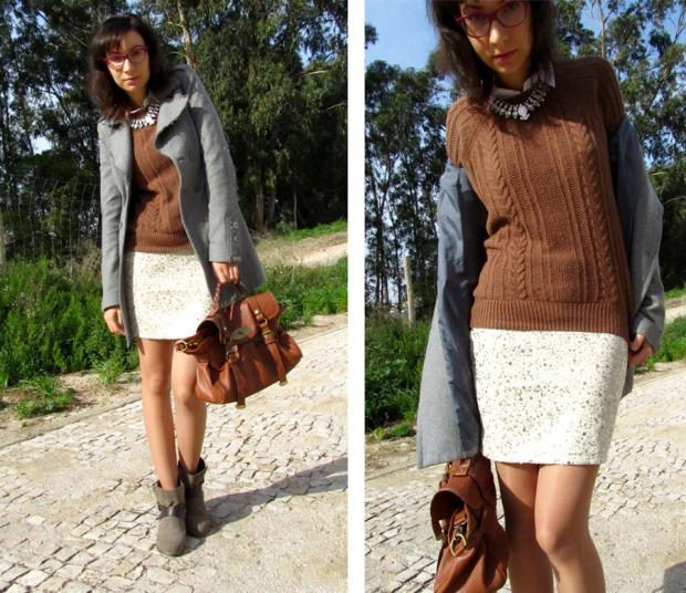 New sequined skirt!