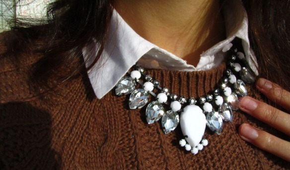statement necklace hm