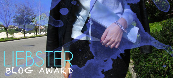 liebster blog award, style and expect, blogger, blue clutch, hm, silver bracelets