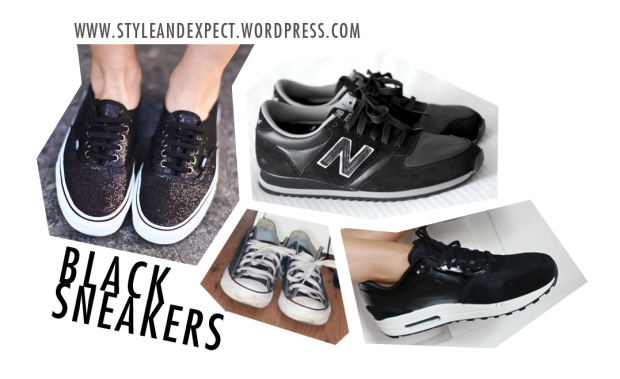 trend, wanted, black, sneakers, nike, adidas, style and expect, bloggers, new balance