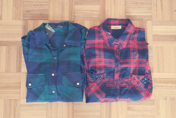 plaid shirt, tartan shirt, primark, c&a, fall trend, fashion blogger, lisbon fashion blogger,