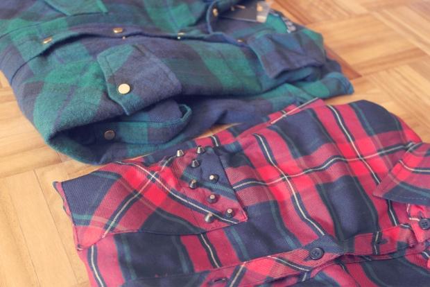 plaid shirt, tartan shirt, primark, c&a, fall trend, fashion blogger, lisbon fashion blogger,