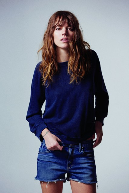 freja beha erichsen, mother denim, fall winter, 2013, it girl, model