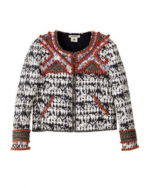 isabel marant x hm, jacket, chanel coat, pattern, fall 2013, fashion blog, style