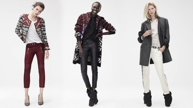 isabel marant, hm, collaboration, capsule collection, fall 2013, november in stores, fashion blog