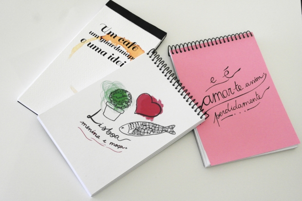 portuguese notebooks, my little notebook, lisboa, poesia, florbela espanca, ilustraçao