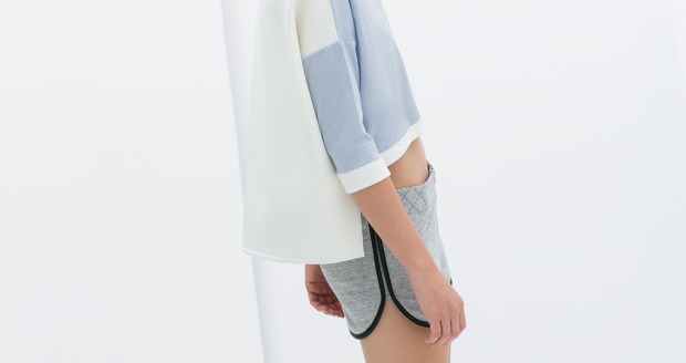 zara, spring, 2014, wish list, pastel colors, light blue, crop top