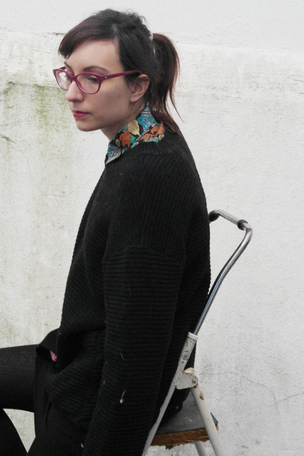 style and expect, vintage prints, black, outfit, vintage shirt