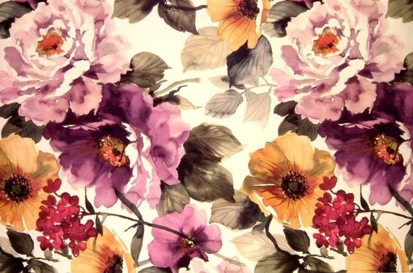 flower pattern, spring, blog makeover, style and expect