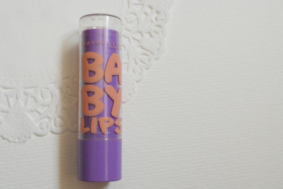 lipbalm, review, maybelline, baby lips, peach kiss