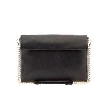 shopping, parfois, little black bag, leather bag, black bag