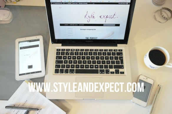 styleandexpect.com, blogger, buying the domain, macbook pro