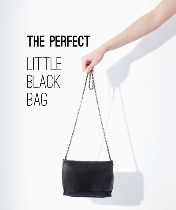 shopping, zara, little black bag, leather bag, black bag
